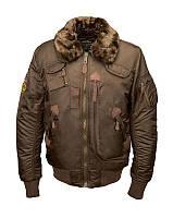 Оригинальная куртка пилот Alpha Industries Injector MJI38016C1 (Brown), фото 1