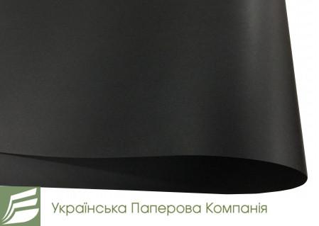 Арт. 195160 Дизайнерський папір VIVALDI BLACK RE.AKARSU чорний, 71*100см, 160гр/м. кв.