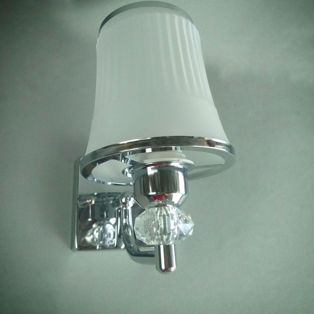 Бра на одну лампу в хроме HQ-8214/1W (12шт)