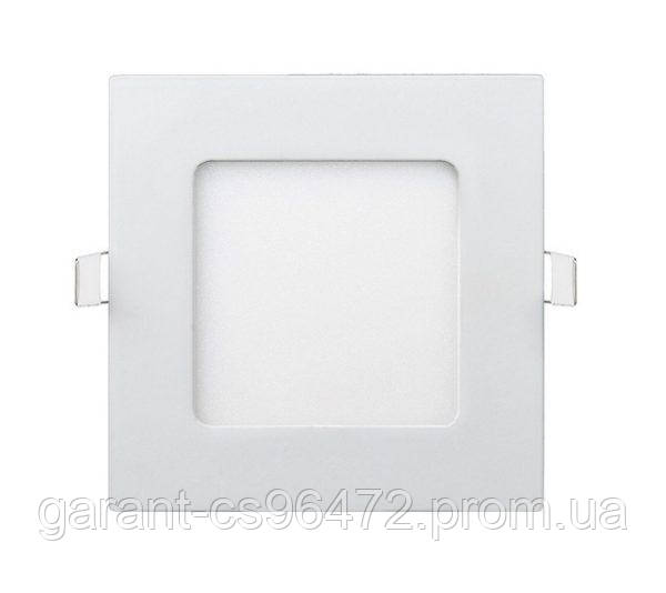 Светильник врезной LED Square Downlight 24W-220V-1700L-4000K Alum TNSy
