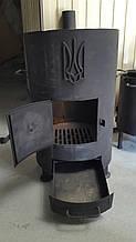 Печка с поддувалом сталь 8мм