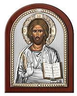 """Ікона срібна """"Господь Вседержитель"""" (15х20см) 84000.4 L. ORO, фото 1"""
