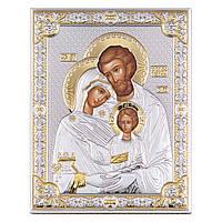 """Икона серебряная """"Святая Симья"""" (12х16 см) 85313/3LORO"""