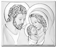 """Икона серебряная """"Святая Симья"""" (14.5х12.5см) 81340 2L"""