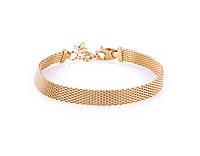 Серебряный браслет в позолоте Milano Gold (9.2г), фото 1