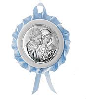 """Медальйон детский """"Святого Семейства"""" 10495 1C"""