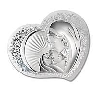 "Икона серебряная ""Богородиця с Младенцем"" (37.5х30см) 81311 1L"