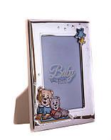 """Фоторамка серебряная """"Baby Toys"""" (фото 10х15) 73119 3LC"""