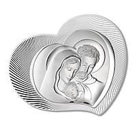"""Икона серебряная """"Святая Симья"""" (37.5х30см)  81312.1L"""