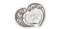 """Икона серебряная """"Святая Симья"""" (46х37см)  L200.6"""