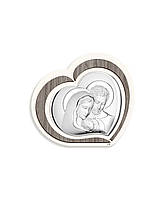 """Икона серебряная """"Святая Симья"""" (11х9 см) L220.1"""