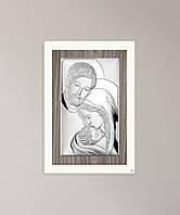 """Ікона срібна """"Свята Сім'я"""" (17х25см) L240.4, фото 1"""