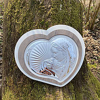 "Икона серебряная ""Богородица с Младенцем"" (35.5х32см) L221 5"
