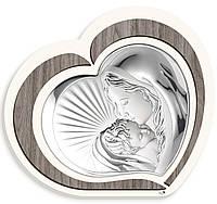 "Икона серебряная ""Богородица с Младенцем"" (44х40см) L221 6"