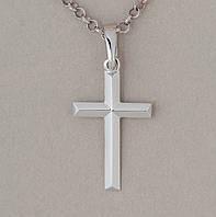 Крест нательный с белого золота 205-0895, фото 1