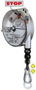 Таль балансир TECNA 9348  Поднимаемый вес 6-8 кг Ход 2.5 м Вес тали 3.45 кг