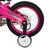 Велосипед дитячий PROF1 12 Д. LMG12125 Проективної синій, фото 2