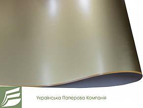 Арт. 16903-00125588 Дизайнерский картон Gold mirror, гладкий матовый, золото, 255 гр/м2