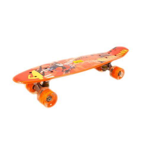Пенни Борд, с принтом (темно-оранжевый) 20888
