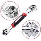 Універсальний гайковий ключ багатофункціональний 48 в 1 Універсальний Wrench набір ключів ОПТ, фото 3