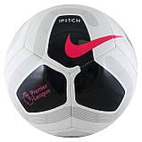 М'яч футбольний Nike Premier League Pitch SC3569-100 Size 5, фото 2