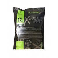 Мультимедийная загрузка FILTRONS X2 (аналог Ecomix-А) 12 л. (видалення заліза, жорсткості, марганцю, аміаку)