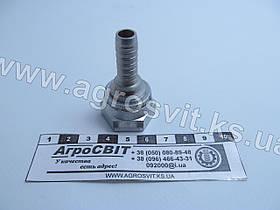"""Ниппель DKR 1/2""""-14 (под шланг dу=10 мм.)"""