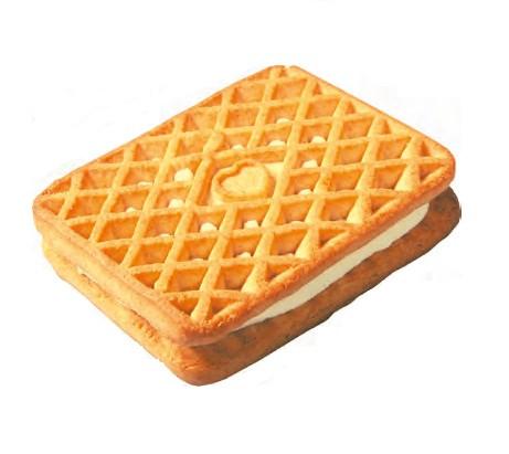 """Печиво седвіч цукрове """"Парижанка"""" з ароматом капамелі """"Жорик-Обжорик"""" 2кг"""