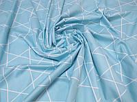Ткань для пошива постельного белья сатин Кошки компаньйон