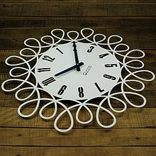 Часы большие на стену 50 см Glozis Romantic
