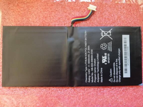 Аккумулятор Barnes & Noble AVPB00, AVPB002-A110-01, BNTV600, GB-S02-308594-0100, BNTV600, Nook HD+ Plus, NOOK, фото 2
