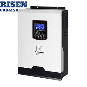 Гибридный ИБП 1000Вт, 12В + ШИМ контроллер 50А, ІSPWM 1000, AXIOMA energy