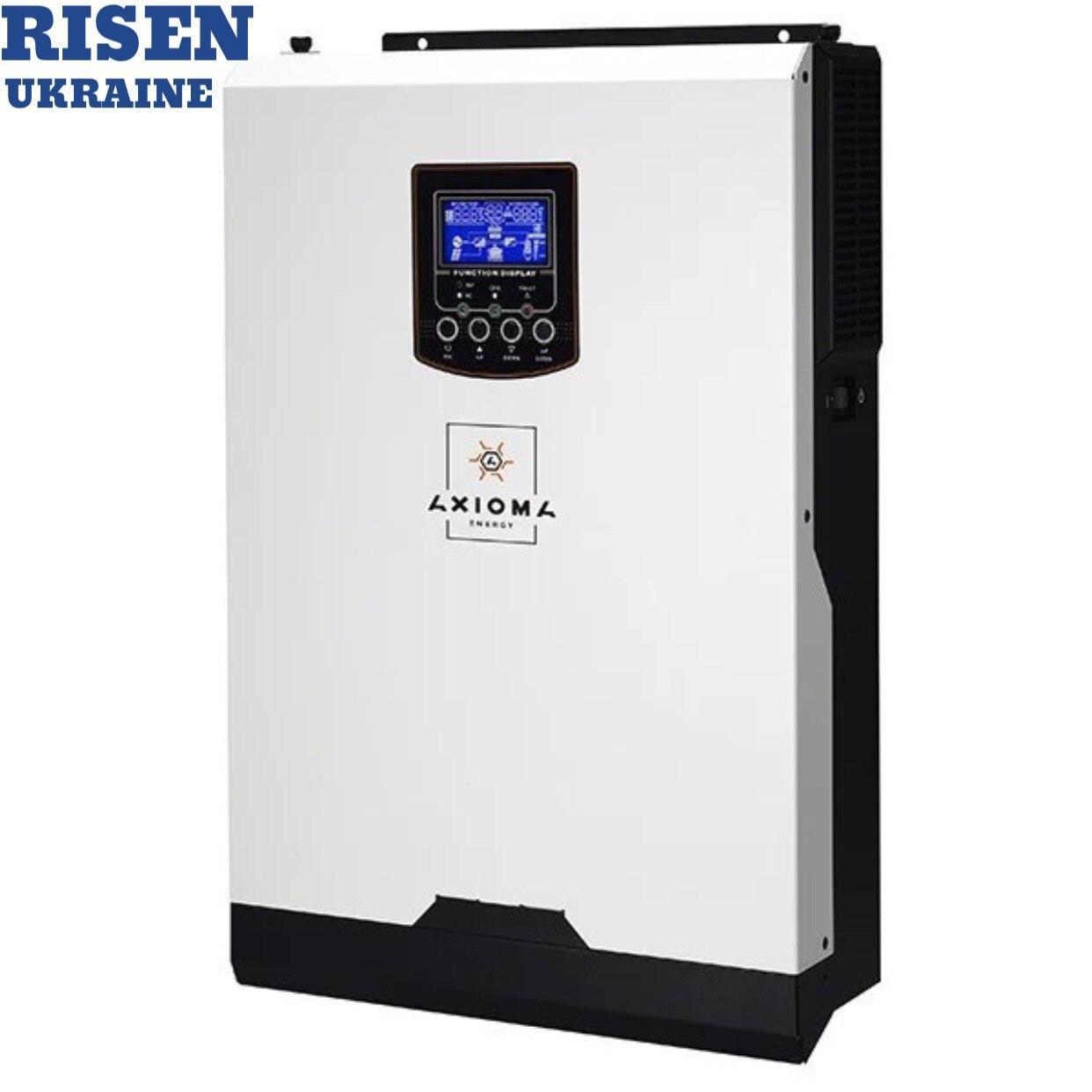 (ПРЕДЗАКАЗ!!) Гибридный ИБП 5000Вт, 48В + МППТ контроллер 80А, ISMPPT BF (Battery Free) 5000, AXIOMA energy
