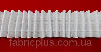 Тесьма шторная  х/б  на 2 нити  60 мм ровная складка