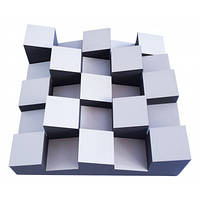 Акустический диффузор-рассеиватель Ecosound Ecodiff Foam White 500х500х150мм, цвет белый
