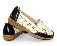 Летние туфли с перфорацией для женщин, фото 1