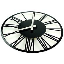 Часы на стену 35 см Glozis Rome (черные или белые)