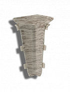 Углы внутренние для плинтуса ПВХ Декор Пласт 67
