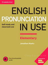 English Pronunciation in Use Elementary with answers and Downloadable Audio: Cambridge / Книга