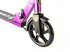 Самокат на великих колесах Scooter Pro 109-C3   Фіолетовий, фото 2