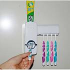 [ОПТ] Диспенсер для зубной пасты и щеток автоматический, фото 4