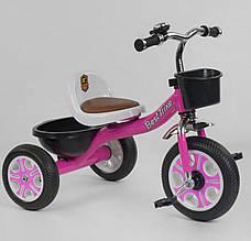 """*Детский велосипед """"Гномик"""" трехколесный BestTrike (розовый) арт. 2806"""
