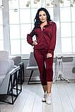 Костюм брючный  с укороченными брюками и курткой свободного кроя,5 цветов,  р.44,46,48,50 Код 1030В, фото 3