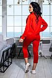 Костюм брючный  с укороченными брюками и курткой свободного кроя,5 цветов,  р.44,46,48,50 Код 1030В, фото 9