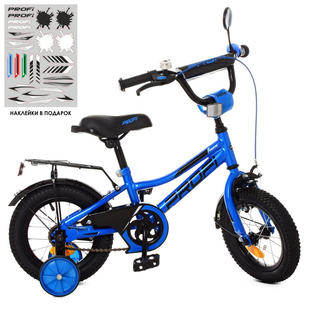 Велосипед дитячий PROF1 12Д. Y12223 синій