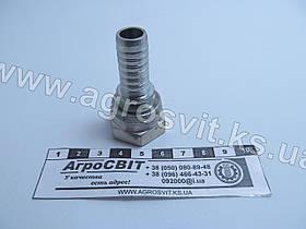 """Ниппель DKR 1/2""""-14 (под шланг dу=12 мм.)"""