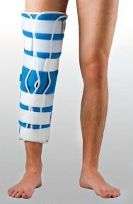 Жесткая шина для ноги с 5-тью металлическими ребрами жесткости ТУТОР-3Н (цена зависит от размера) UNIp-3 (для детей)
