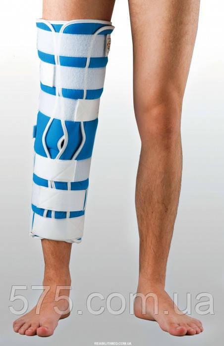 Жесткая шина для ноги с 5-тью металлическими ребрами жесткости ТУТОР-3Н (цена зависит от размера) UNI-1