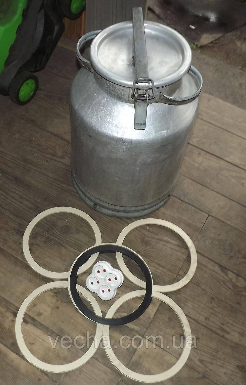 Резиновое кольцо уплотнитель молочного бидона на 25,20,38, и 40литров Черное