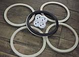 Резиновое кольцо уплотнитель молочного бидона на 25,20,38, и 40литров Черное, фото 2
